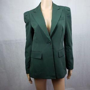 Forever 21 Dark Green Blazer Size M